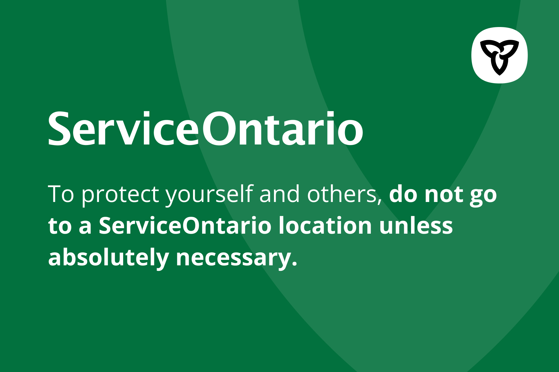 Serviceontario Locations Hours And Contact Ontario Ca